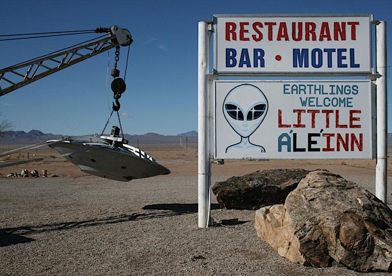 alien in near area 51